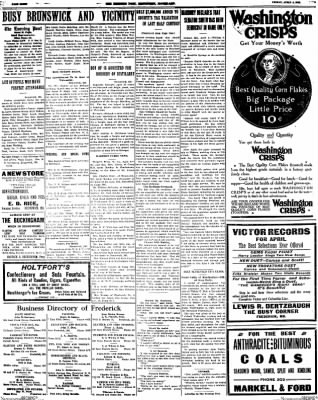 The Frederick Post from Frederick, Maryland on April 4, 1913 · Page 8