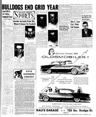 The Algona Upper Des Moines from Algona, Iowa on November 3, 1955 · Page 46