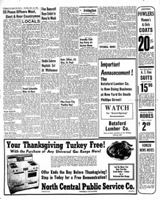 The Algona Upper Des Moines from Algona, Iowa on November 10, 1955 · Page 6