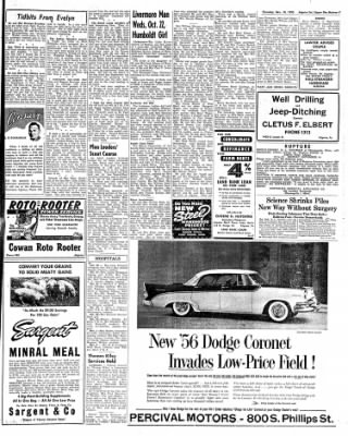 The Algona Upper Des Moines from Algona, Iowa on November 10, 1955 · Page 15
