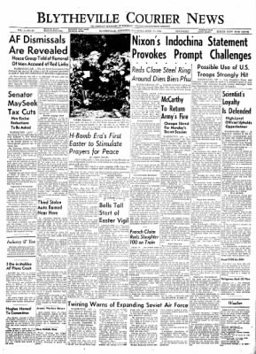 The Courier News from Blytheville, Arkansas on April 17, 1954 · Page 1