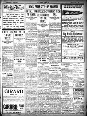 Oakland Tribune from Oakland, California on February 11, 1903 · Page 7