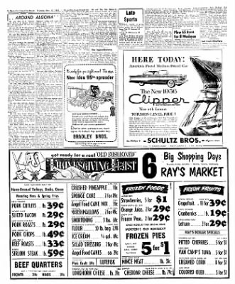 The Algona Upper Des Moines from Algona, Iowa on November 17, 1955 · Page 4