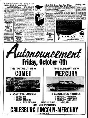 Galesburg Register-Mail from Galesburg, Illinois on October 3, 1963 · Page 30
