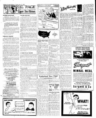 The Algona Upper Des Moines from Algona, Iowa on November 17, 1955 · Page 26