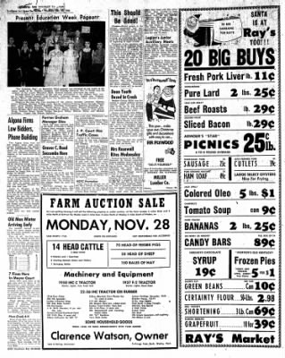 The Algona Upper Des Moines from Algona, Iowa on November 24, 1955 · Page 2