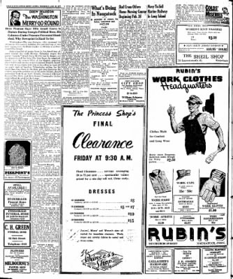 Naugatuck Daily News from Naugatuck, Connecticut on January 30, 1947 · Page 2