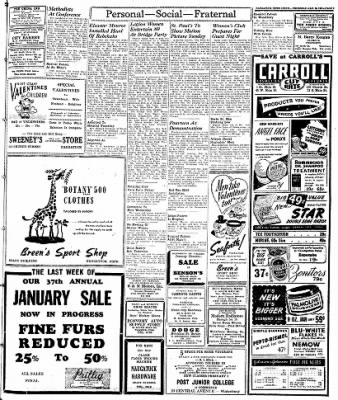 Naugatuck Daily News from Naugatuck, Connecticut on January 30, 1947 · Page 3