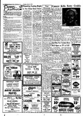 Galesburg Register-Mail from Galesburg, Illinois on July 3, 1973 · Page 6