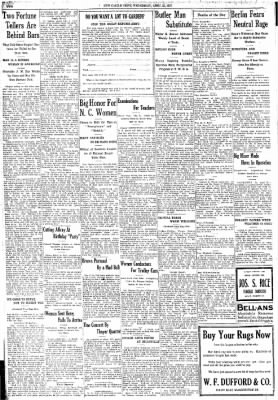 New Castle News from New Castle, Pennsylvania on April 25, 1917 · Page 18