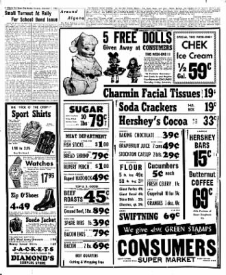 The Algona Upper Des Moines from Algona, Iowa on December 1, 1955 · Page 40