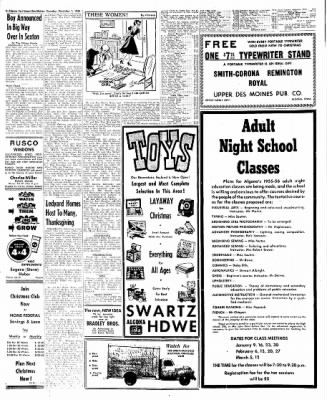 The Algona Upper Des Moines from Algona, Iowa on December 1, 1955 · Page 54
