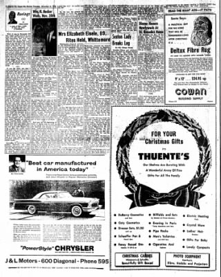 The Algona Upper Des Moines from Algona, Iowa on December 8, 1955 · Page 8