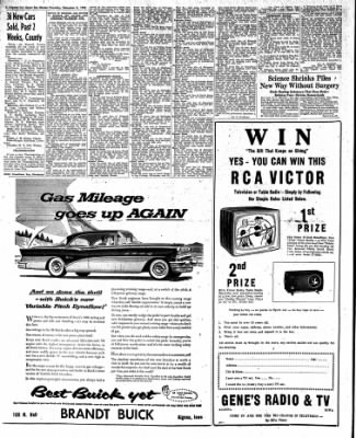 The Algona Upper Des Moines from Algona, Iowa on December 8, 1955 · Page 20