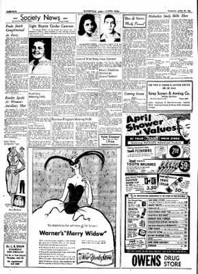 The Courier News from Blytheville, Arkansas on April 20, 1954 · Page 4