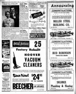 The Algona Upper Des Moines from Algona, Iowa on December 8, 1955 · Page 32