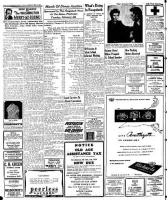 Naugatuck Daily News from Naugatuck, Connecticut on February 3, 1947 · Page 2