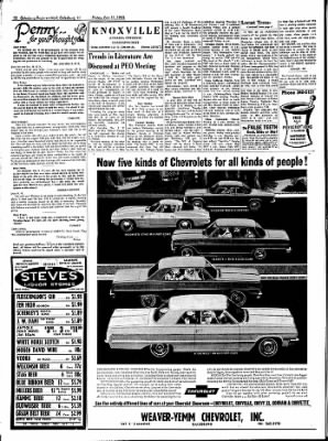 Galesburg Register-Mail from Galesburg, Illinois on October 11, 1963 · Page 22