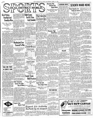 New Castle News From New Castle Pennsylvania On April 15 1933