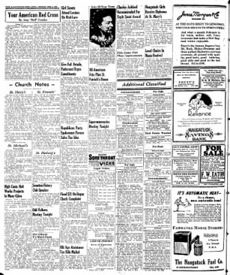 Naugatuck Daily News from Naugatuck, Connecticut on February 3, 1947 · Page 8