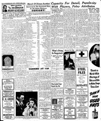 Naugatuck Daily News from Naugatuck, Connecticut on February 4, 1947 · Page 2