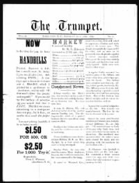 Sample The Trumpet front page