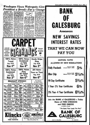 Galesburg Register-Mail from Galesburg, Illinois on July 11, 1973 · Page 17