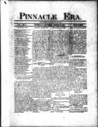 Sample Pinnacle Era front page