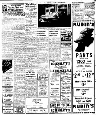 Naugatuck Daily News from Naugatuck, Connecticut on February 6, 1947 · Page 2