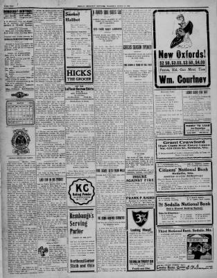 The Sedalia Democrat from Sedalia, Missouri on March 19, 1908 · Page 2