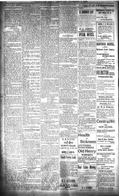 The Charlotte Observer from ,  on December 3, 1898 · Page 8