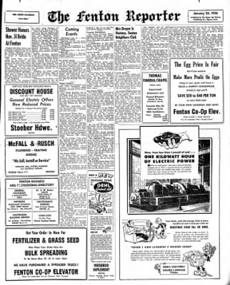 The Algona Upper Des Moines from Algona, Iowa on January 24, 1956 · Page 11