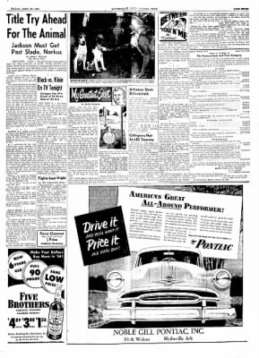 The Courier News from Blytheville, Arkansas on April 23, 1954 · Page 7