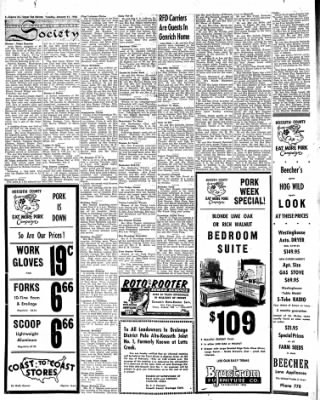 The Algona Upper Des Moines from Algona, Iowa on January 31, 1956 · Page 6