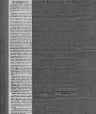 Pro-Lincoln coverage of his 1865 inauguration for his second term in presidency