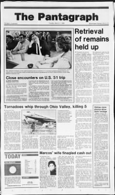 The Pantagraph from Bloomington, Illinois on March 11, 1986 · Page 1