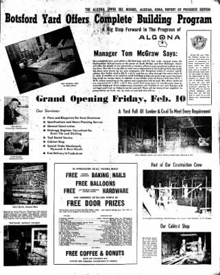The Algona Upper Des Moines from Algona, Iowa on February 7, 1956 · Page 17