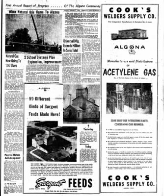 The Algona Upper Des Moines from Algona, Iowa on February 7, 1956 · Page 25