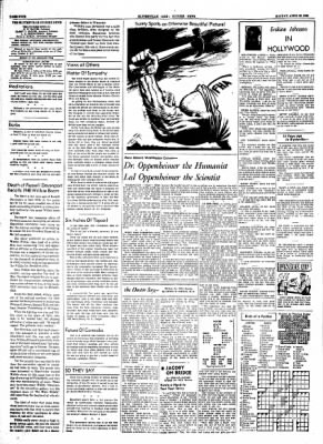 The Courier News from Blytheville, Arkansas on April 26, 1954 · Page 4