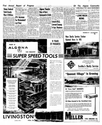 The Algona Upper Des Moines from Algona, Iowa on February 7, 1956 · Page 63
