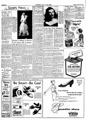 The Courier News from Blytheville, Arkansas on April 27, 1954 · Page 4