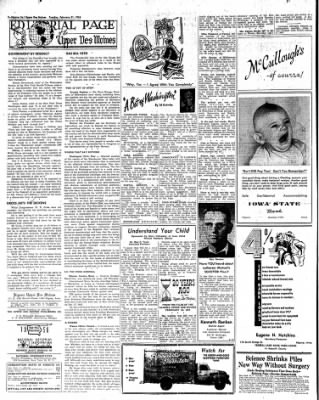 The Algona Upper Des Moines from Algona, Iowa on February 21, 1956 · Page 14