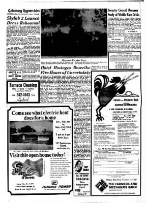 Galesburg Register-Mail from Galesburg, Illinois on July 20, 1973 · Page 19