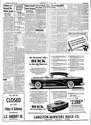 The Courier News from Blytheville, Arkansas on April 28, 1954 · Page 7