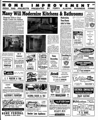 The Algona Upper Des Moines from Algona, Iowa on February 28, 1956 · Page 9