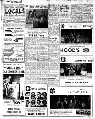 The Algona Upper Des Moines from Algona, Iowa on March 6, 1956 · Page 2