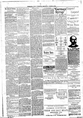 The Bismarck Tribune from Bismarck, North Dakota on March 3, 1892 · Page 2