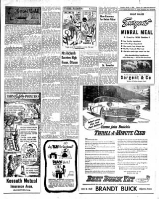 The Algona Upper Des Moines from Algona, Iowa on March 6, 1956 · Page 19