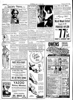 The Courier News from Blytheville, Arkansas on April 29, 1954 · Page 4