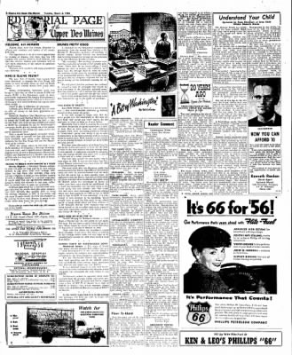 The Algona Upper Des Moines from Algona, Iowa on March 6, 1956 · Page 41